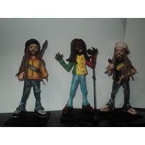 Bob Marley,alborosie Danakil,estatuillas En Porcelana Fría
