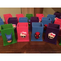 Portalapices Hombre Araña, Monster High, Batman, Etc