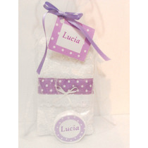Set Spa Souvenir Toallita Jabon Cumples Spa Nena Baby Shower