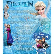 Listo!!!! Solo Imprimis!!! Cumpleaños Kit Imprimible Frozen