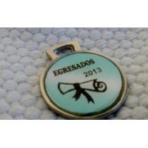 Medallas Deportivas, Egresados, Personalizadas X 10 U