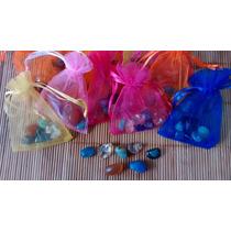 Bolsa De Organza Con Piedras De Los 7 Chakras Ideal Souvenir