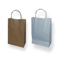Bolsas De Papel Marrón/blancas Souvenirs/cumpleaños/regalos