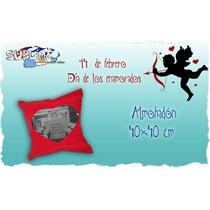 Almohadon Corazon (relleno Siliconado) Dia De La Madre!
