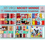 1 Kit Imprimible X 6 Mickey Minnie Disney P/candybar Cumples