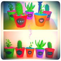 Souvenirs Personalizados Cactus Y Suculentas Regalos Eventos