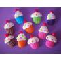 Cupcakes Y Mini Cupcakes En Porcelana Fría