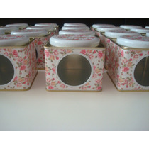 Latitas /cajitas De Zinc Estampadas * Souvenir (10 Unidades)