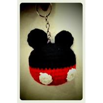 Souvenirs Tejidos A Crochet Mickey Y Minnie Amigurumis
