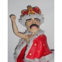 Freddie Mercury Queen Estatuilla En Porcelana Fría