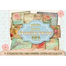 Kit Imprimible 9 Etiquetas Tarjetitas Souvenir Frascos Cajas