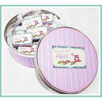 Chocolates Personalizados + Lata Presentacion Souvenir