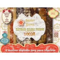 Kit Imprimible 6 Motivos Navidad Calida + Moldes Cajitas 3x1