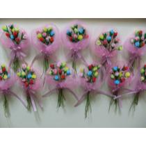 Flores Porcelana Casamiento Aniversario 15 Dia Madre X 10