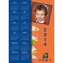 Calendarios 2014 Imán Regalo Con Foto Y Nombre Niño, Bebé