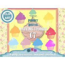 Kit Imprimible Muffins 9 Png Jpg Clipart Jardin Infantes