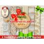 6 Fondos Navidad Dorados Papel Lámina Regalo Decoupage Scrap