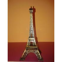 Torre Eiffel Souvenirs Centro De Mesa Decoración 18 Cms.