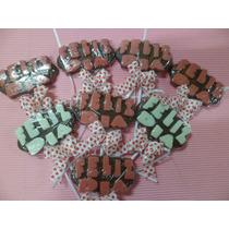 Paletas Chocolate Feliz Dia De La Madre Padre. Niño