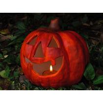 Calabaza Halloween Para Decoración - Centro Mesa