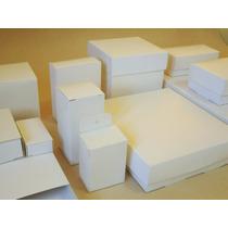 50 Cajas Para Souvenirs Y Regalos Blancas 1ra Calidad