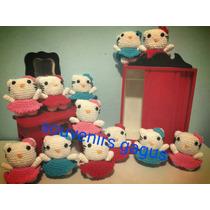 Souvenirs De Hello Kitty Tejido A Crochet