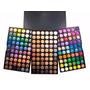 Paleta Professional De Sombras 180 Colores + Set De Pinceles