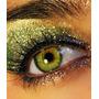 Mini Glitter Purpurina Brillo Verde Con Plateado G14b