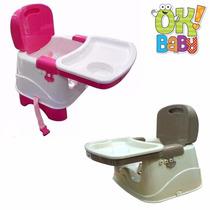 Silla De Comer Booster Portatil - 2 Alturas Ok Baby