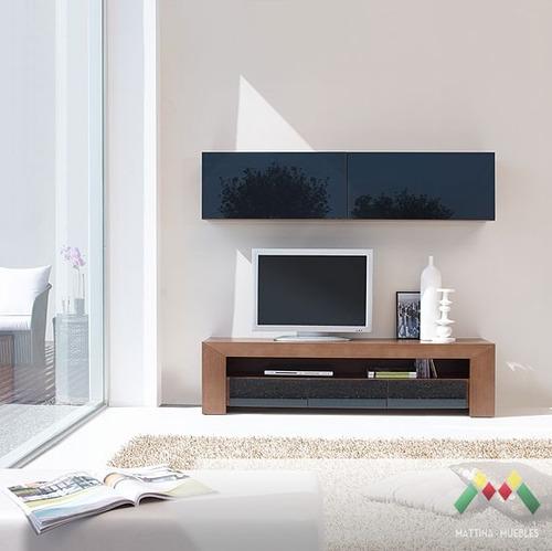 Muebles Y Bibliotecas Muebles Para Tv Mesas Pino En Sala  Review