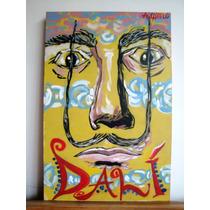 Cuadro Pintura Acrilíco - Dalí