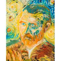 Pintura Original Enrique Llorens Van Gogh Y Sus Soles