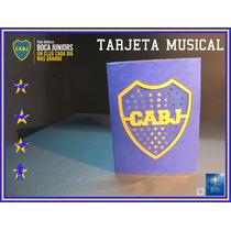 Tarjetas Musicales Boca Juniors