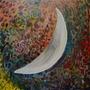 El Sol Y La Luna, Pinturas Al Oleos Sobre Tela 100 X 100 Cm.
