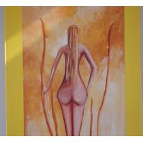 Cuadro Pintura Lampara De Aladino, 60 X 160 Cms - Granados
