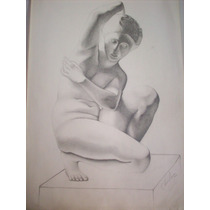 Dibujo A Lapiz Original-(san Martin)