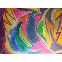 Dibujo/ Abstracto/ Crayones