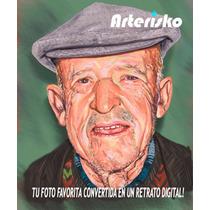 Retratos Dibujos Digitales
