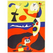 Litografía Original De Joan Miro L
