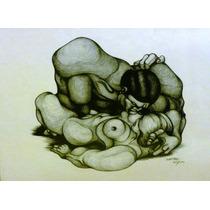 Serigrafía De Ricardo Carpani