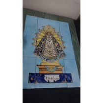 Virgen De Lujàn Mayòlicas 0,30 X 0,45