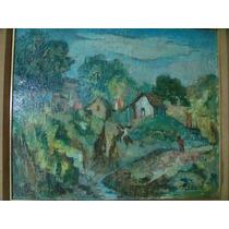 Hermosa Obra De Marino Persico, Rancherio , 52 X 64 Aprox.
