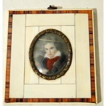 Miniatura Francesa Beethoven A Restaurar Marco De Baquelita