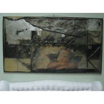 *·.¸.·´`·» Gran Oleo Cuadro Pintura Collage (180 X 100)