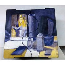 Cajas De Te Pintadas Al Oleo - De Autor