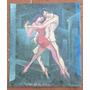 Lubrano Germinal 48.5x 41, Oleo Sobre , Tango En El Callejon