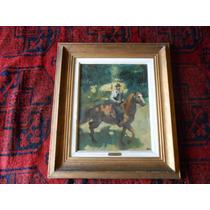 Pintura Al Oleo, Domingo Mazzone, 38cm Por 48cm, Med.s/marco
