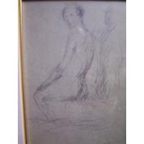 Cabonilla, Miguel Victorica, Desnudo De Mujer Sentada