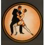 Oleos De Tango Originales 100 X 100 Cm. Rebajado