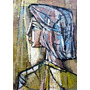 Oleo Original : Anónimo - Pintura Abstracta - Gran Formato